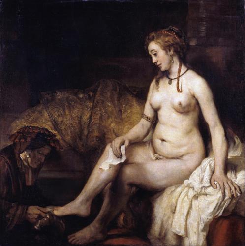 «Bathsheba» (oljemaleri) av Rembrandt van Rijn, 1654.