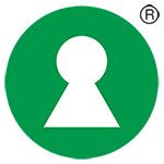 Logo som kjennetegner Nøkkelhullet.