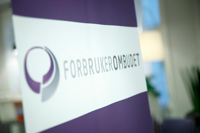 Fotografi som viser logoen til Forbrukerombudet.