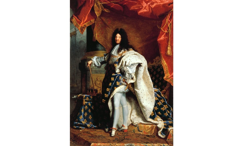 «Louis XIV (1638–1715)» (oljemaleri) av Hyacinthe Rigaud, 1701